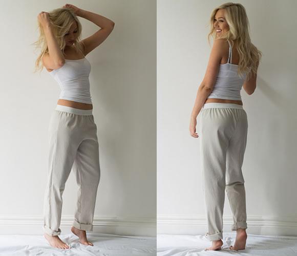 pyjamas-lady