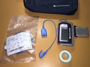 酸素濃度、呼気量計測計
